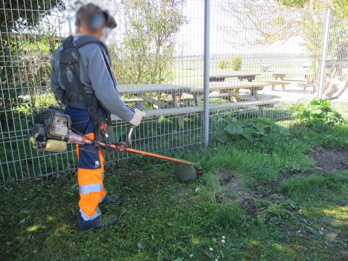 Entretien d'espaces verts et du bâti